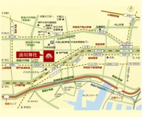 湊川神社 地図