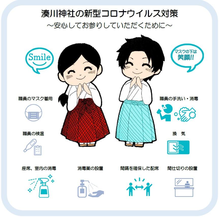 湊川神社の新型コロナウィルス対策